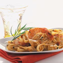 Pasta With Quick Sundried Tomato Pesto Butter