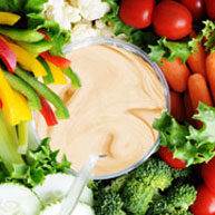 Honey Mustard Veggie Dip
