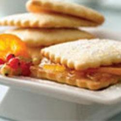 Orange Marmalade Sandwich Cookies
