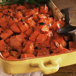 Honey-Ginger Sweet Potatoes