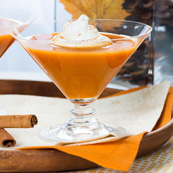 Sparkling Pumpkin Pie Punch