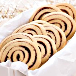 Grape Jelly Pinwheel Cookies