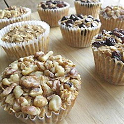 Personal Sized Baked Oatmeal Muffins