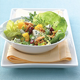 Almond, Blue Cheese & Cranberry Salad