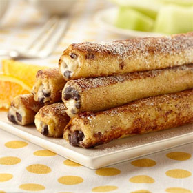 Cannoli French Toast Rolls