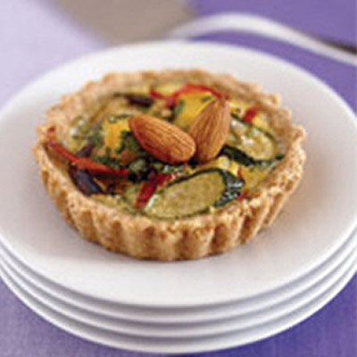 Almond Tart with Summer Vegetables