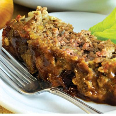 Hearty Honey-Glazed Meatloaf