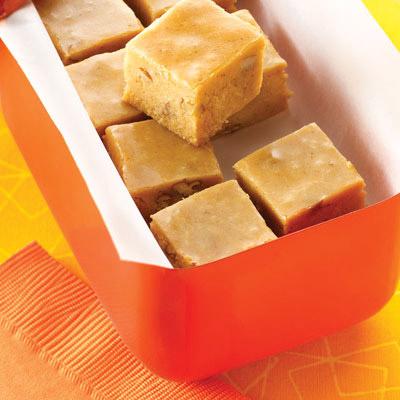 Pecan Pumpkin Pie Fudge