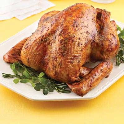 Apricot Herb Glazed Turkey