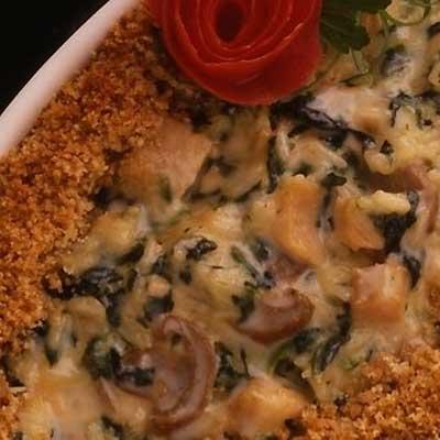 Baked Parmesan Rice
