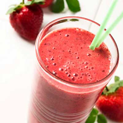 Berry Chocolate Smoothie