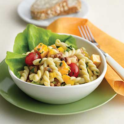 Black-Eyed Pea and Pasta Salad