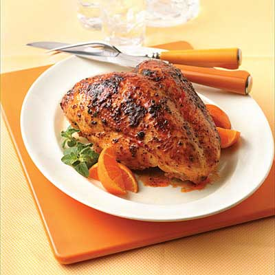 Brined Chipotle Orange Turkey Breast