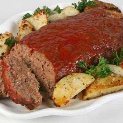 Apple Sauce Meatloaf