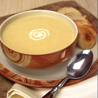Cheddar Apple Brie Soup