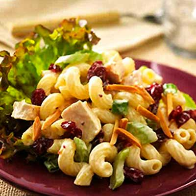 Chicken Pasta Pomegranate Salad