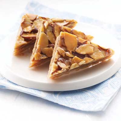 Cinnamon Honey Almond Triangles