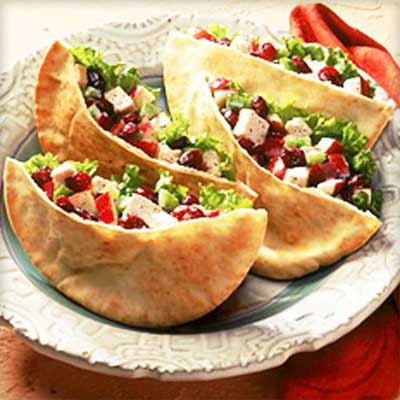 Cool Turkey Pitas