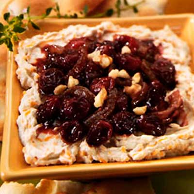 Cranberry Caramelized Onion Cheese Spread