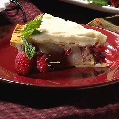 Cranberry Walnut Apple Pie