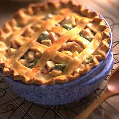 Deep-Dish Turkey Pot Pie