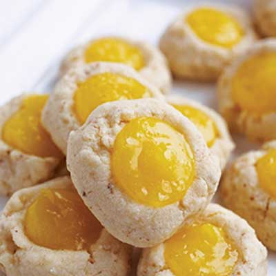 Deer Valley Lemon Thumbprint Cookies