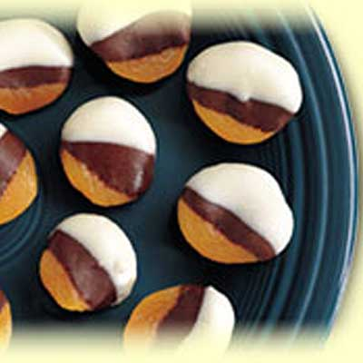Double Chocolate Dipped Apricots
