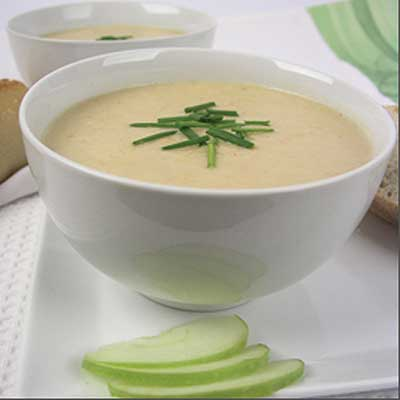 Fall Harvest Creamy Apple and Parsnip Soup