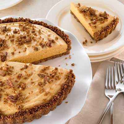 Gingersnap Pumpkin Cream Tart