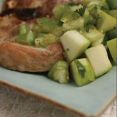 Granny Smith Green Chile Salsa