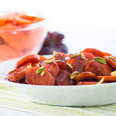 Grape Glazed Carrots