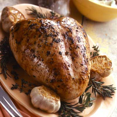 Grilled Herb Turkey Breast