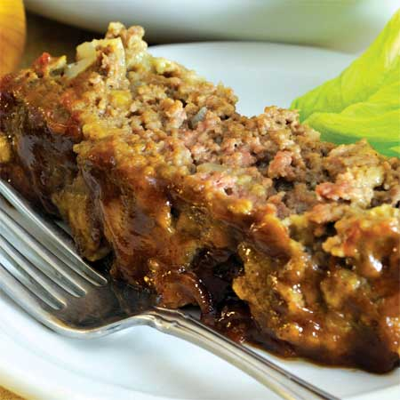 Hearty Honey-Glazed Meatloaf