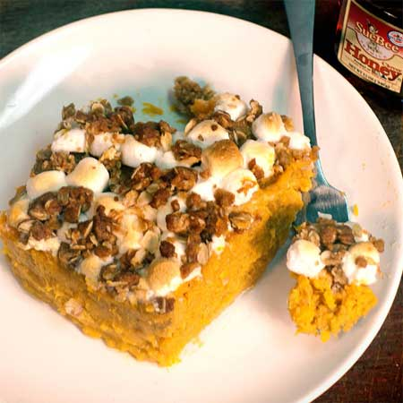 Honey Sweet Potato Casserole
