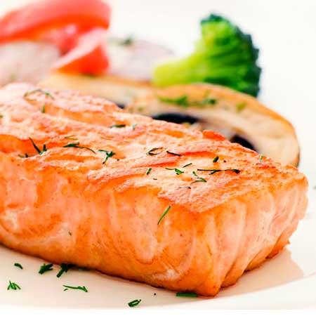 Honey-Orange Marinated Salmon