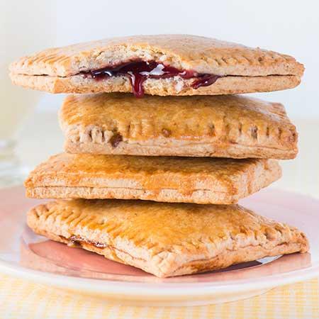 Mini Raspberry Breakfast Tart