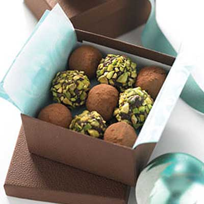 Mocha Chocolate Truffles