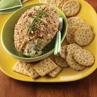 Nutty Touchdown Cheese Ball