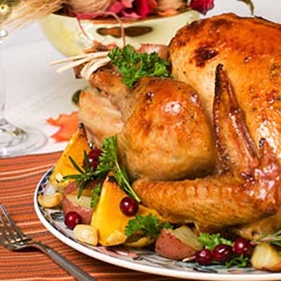Orange and Herb Roasted Turkey