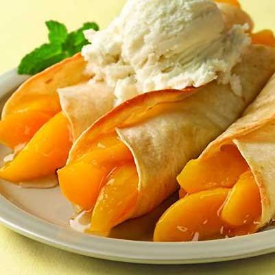 Peachy Enchiladas
