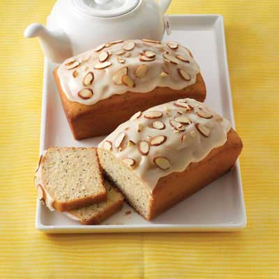 Poppy Seed Almond Tea Bread
