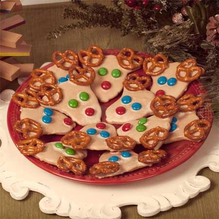 Reindeer Honey Sugar Cookies