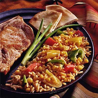 Rio Grande Peppers & Rice