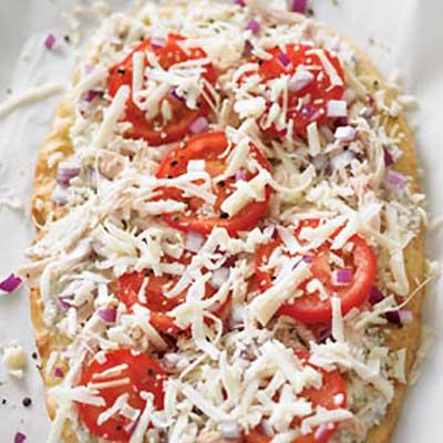 Roast Chicken Pizza