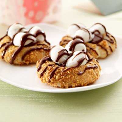 S'More Thumbprints (Gluten-Free Recipe)