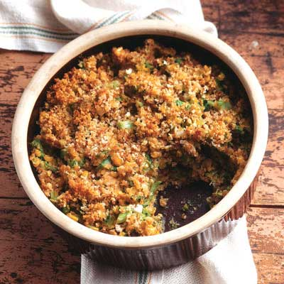 Savory Broccoli Corn Casserole