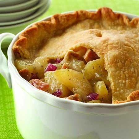 Savory Chicken & Apple Pot Pie