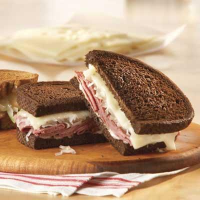Slimmer Reuben Sandwich