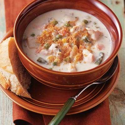Slow Cooker Chicken Chowder