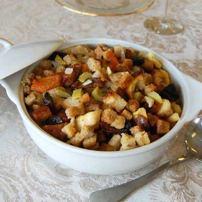 Spiced Fruit & Bread Stuffing